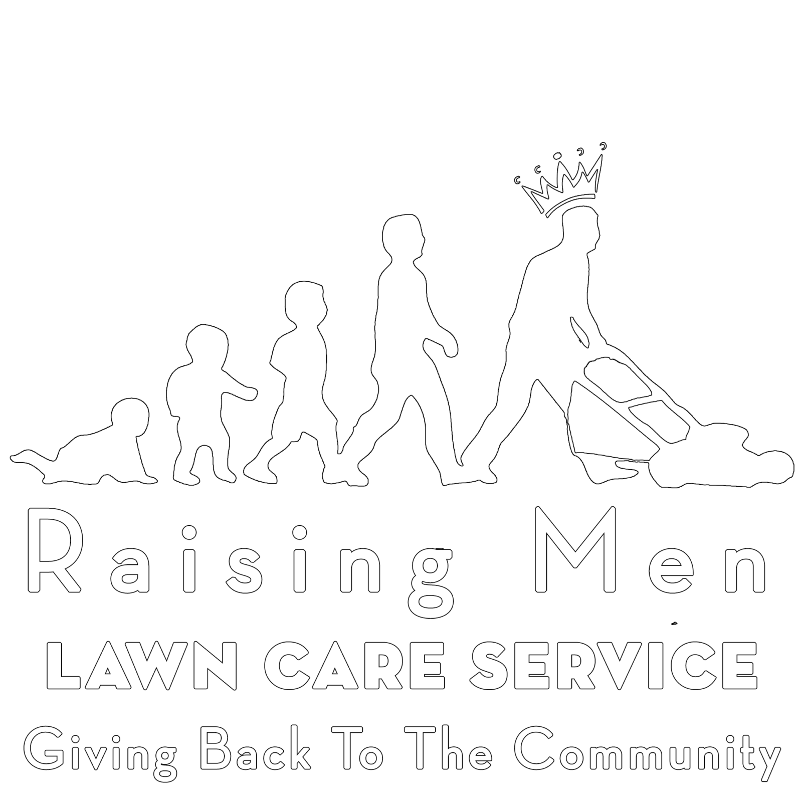 Raising Men Lawn Care Service – Making a Difference One Lawn
